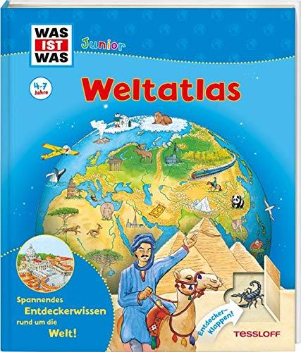 WAS IST WAS Junior Weltatlas für Kinder: Welche...