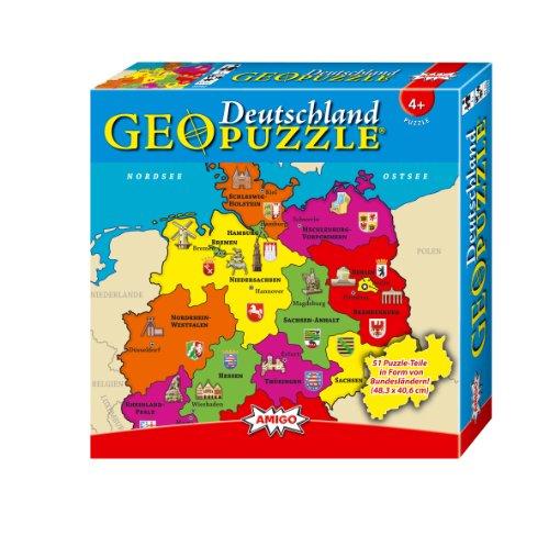 Amigo 00382 - GeoPuzzle– Deutschland
