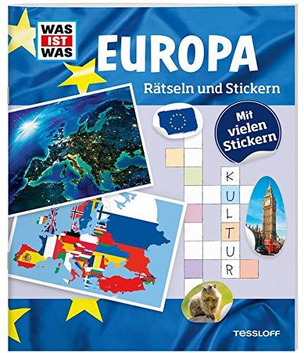 WAS IST WAS Rätseln und Stickern: Europa (WAS IST WAS...