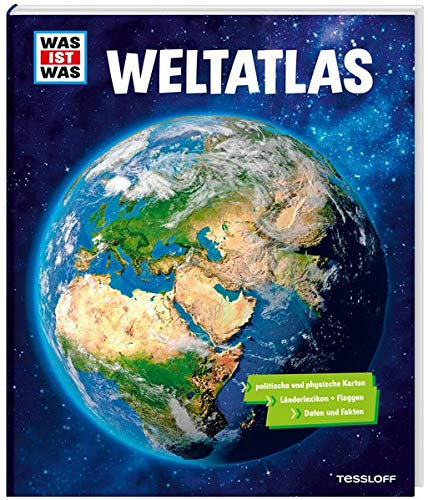 WAS IST WAS Weltatlas: Mehr als 80 Karten,...
