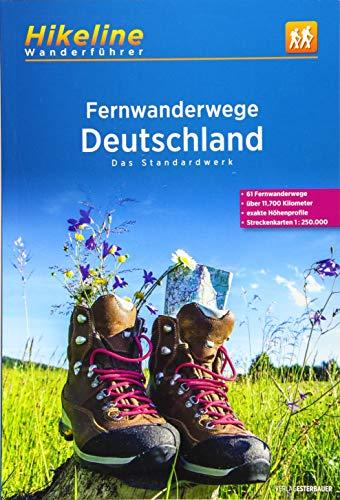 Fernwanderwege Deutschland: Das Standardwerk, 61...