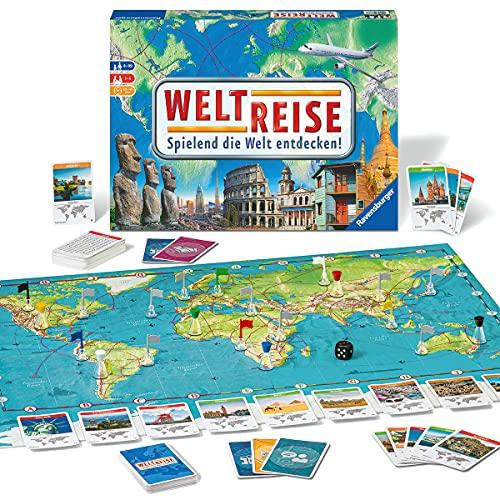Ravensburger 26888 26332 - Weltreise- Familienklassiker...