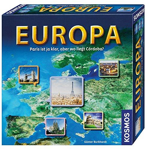 KOSMOS 692636 Europa, Geografie-Spiel, Familienspiel...