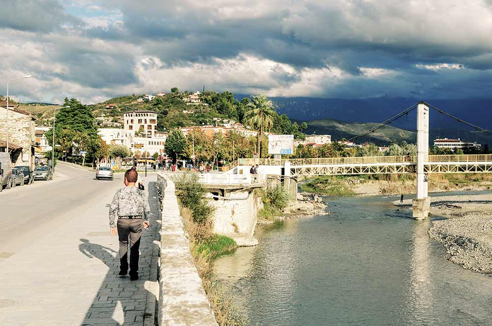 Der Osum in Berat