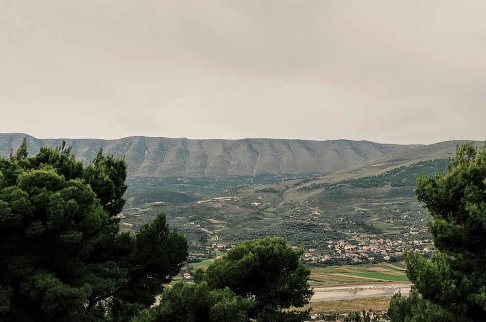 Berge bei Berat
