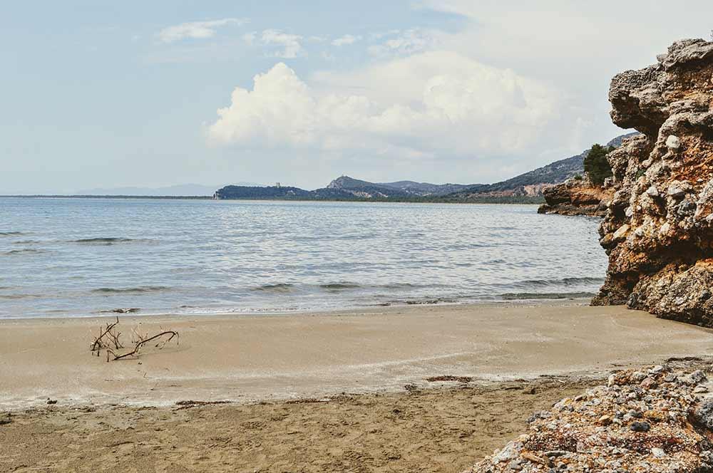 Bucht in der Maremma