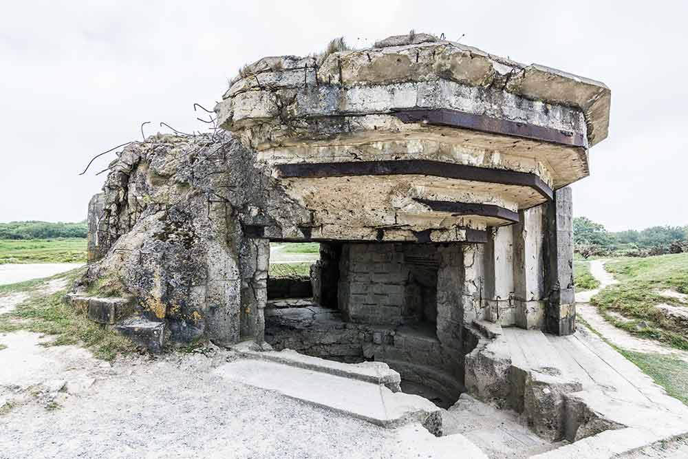 Bunker bei Pointe du Hoc