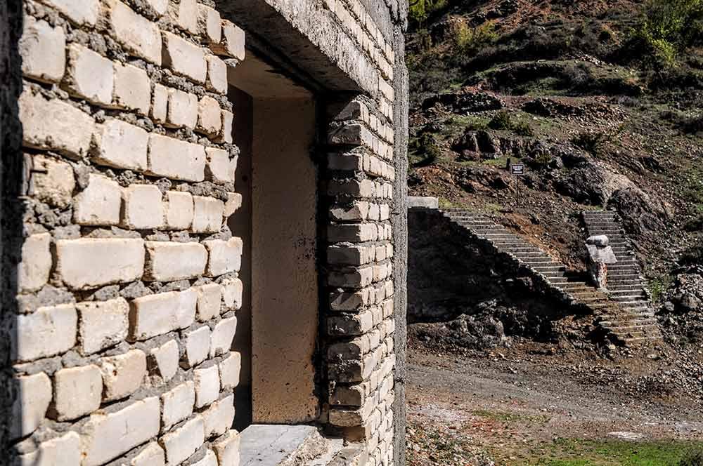 Denkmal Gefängnis Spaç