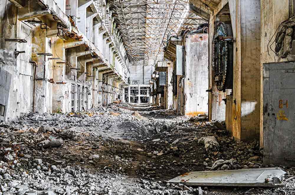 Kraftwerk Fier in Albanien - riesiger Lost Place