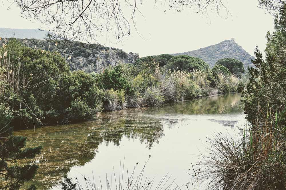 Fluss in der Maremma