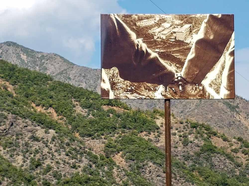 Historisches Foto von Spaç