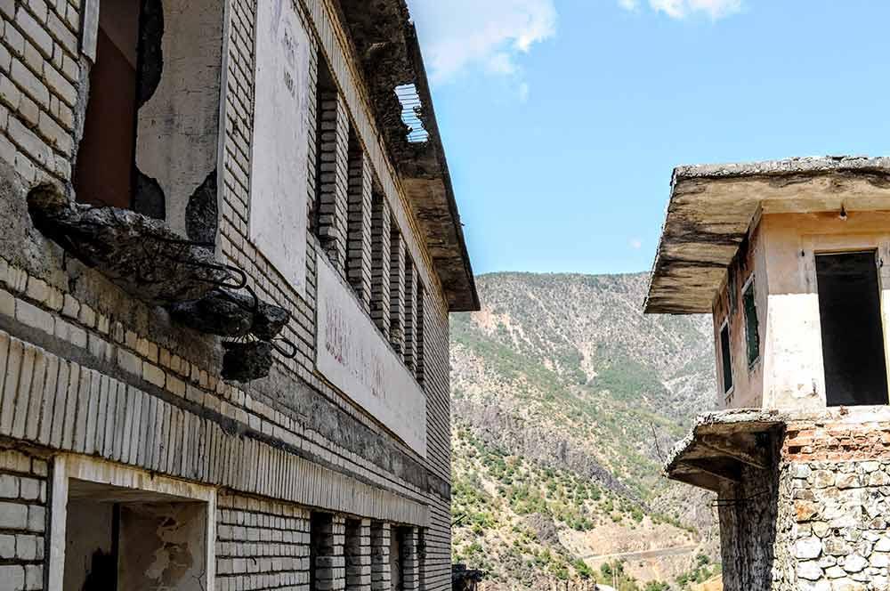 Gebäude von Spaç
