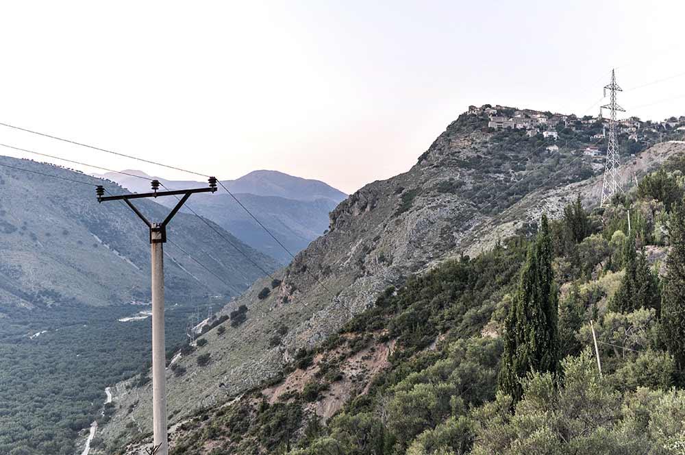 Geisterstadt an der Albanischen Riviera