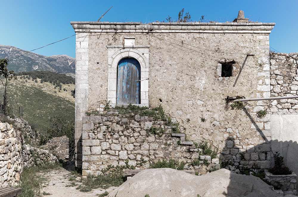 Himara an der Albanischen Riviera