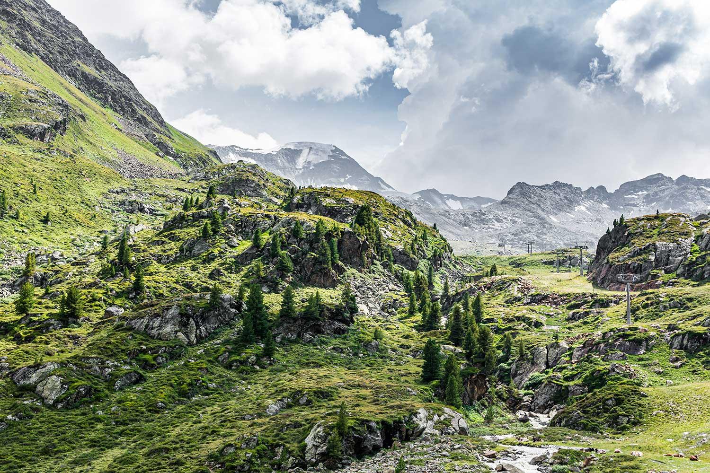 Die Weißseespitze im Kaunertal