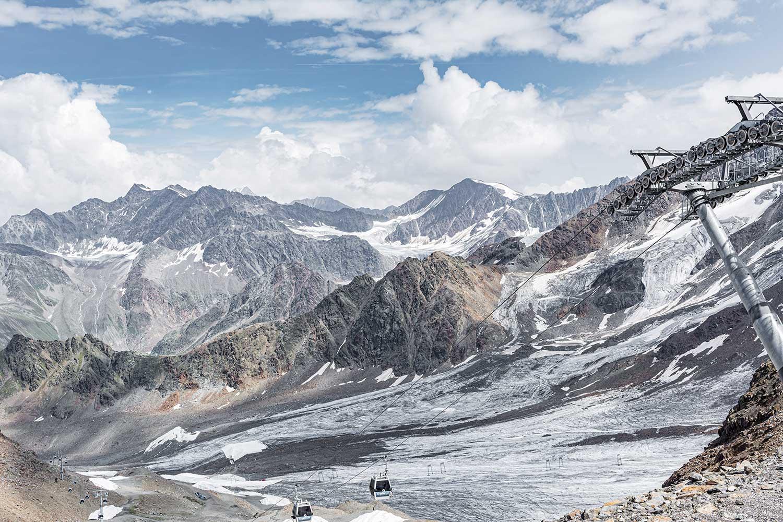 Der Kaunertaler Gletscher