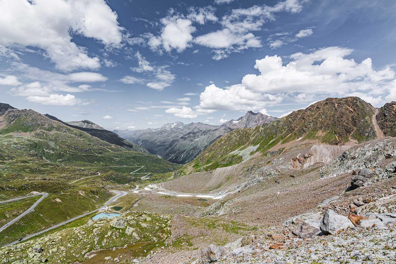 Die Kaunertaler Gletscherstraße