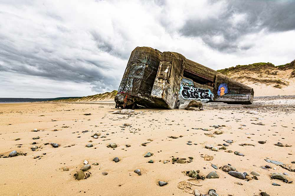 Bunker in der Normandie