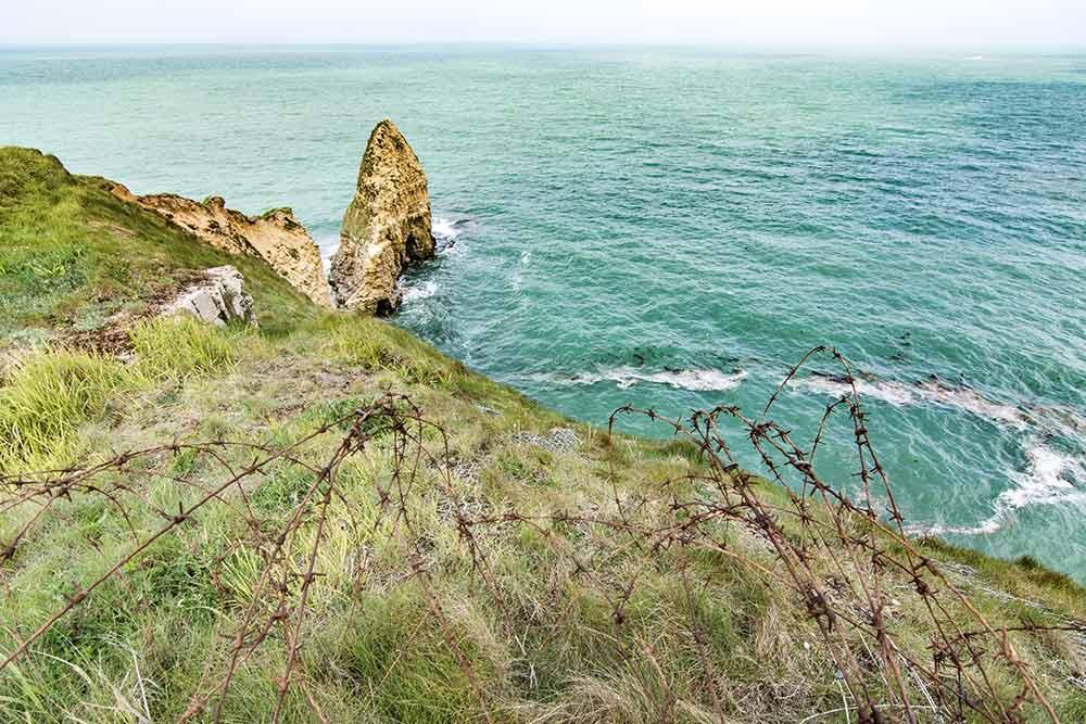 Küste von Pointe du Hoc