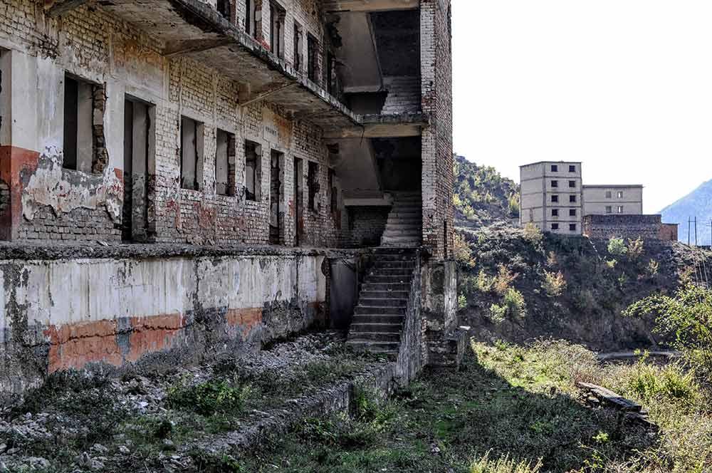 Die Ruinen von Spaç