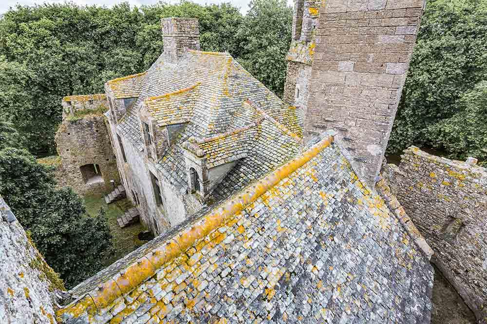 Das Schloss von Pirou