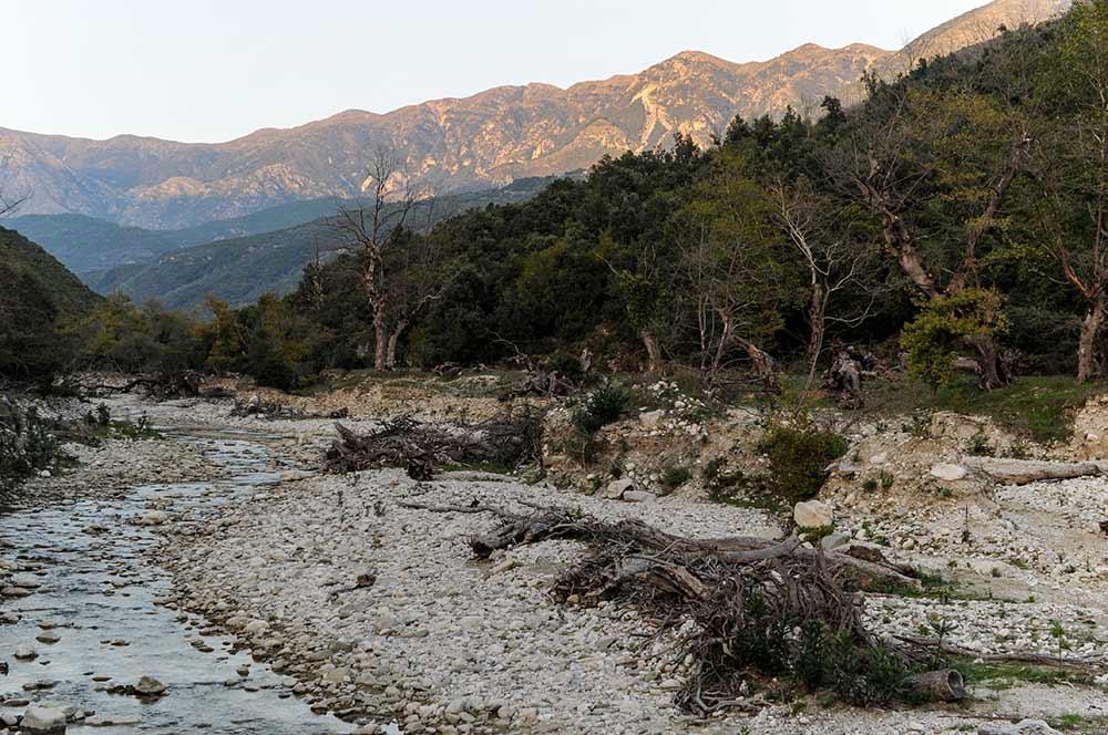 Landschaft bei Qeparo