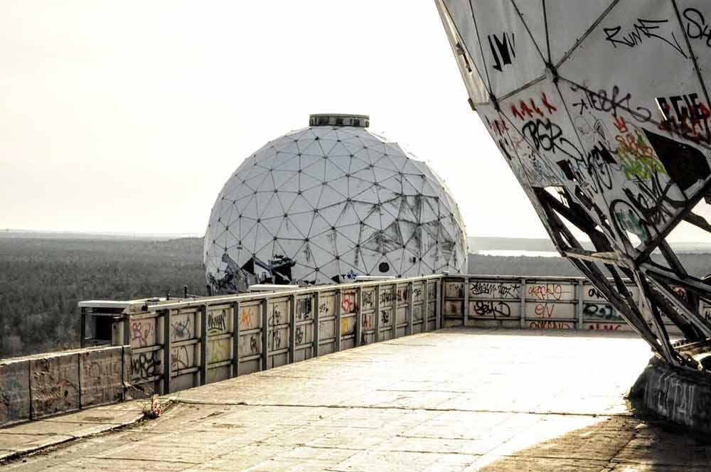 Auf dem Teufelsberg in Berlin - ein berühmter Lost Place