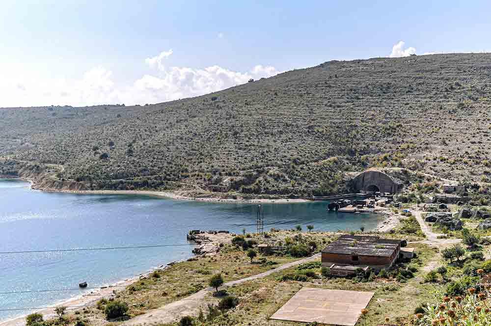 U-Boot-Bunker bei Porto Palermo