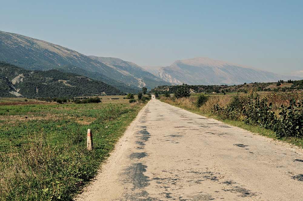 Weitere Umgebung von Gjirokastra