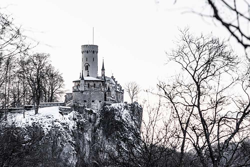 Vom Lemberg zum Schloss Lichtenstein