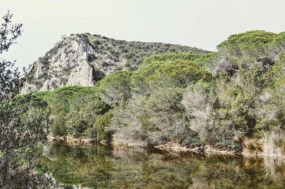 Wanderung an einem Kanal in der Maremma