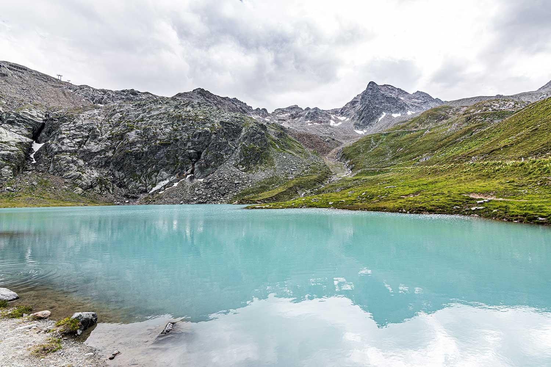 Der Weißsee im Kaunertal
