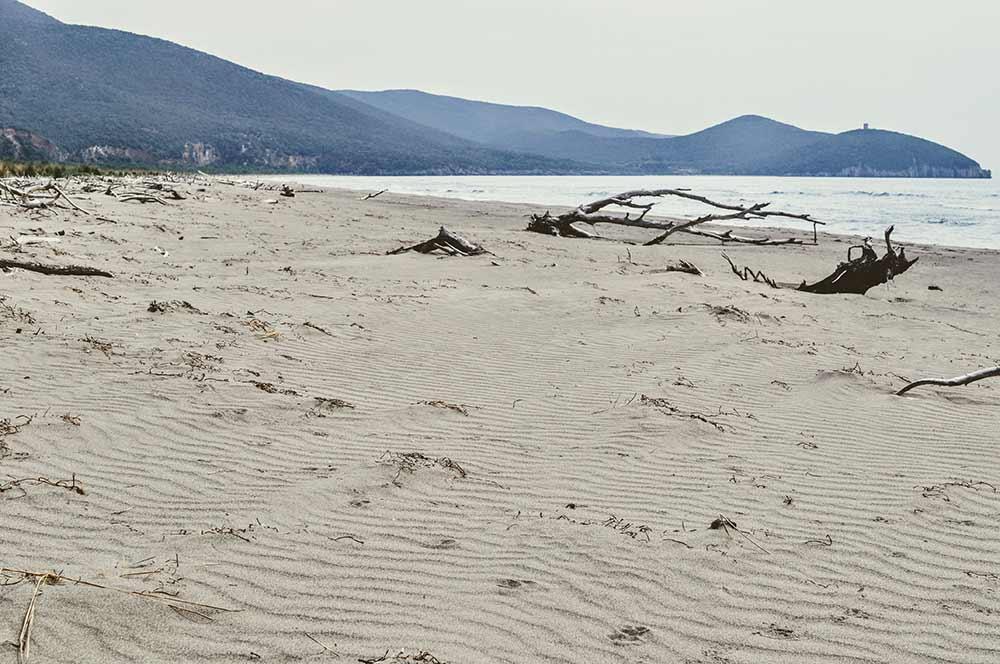 Wilder Maremma-Strand