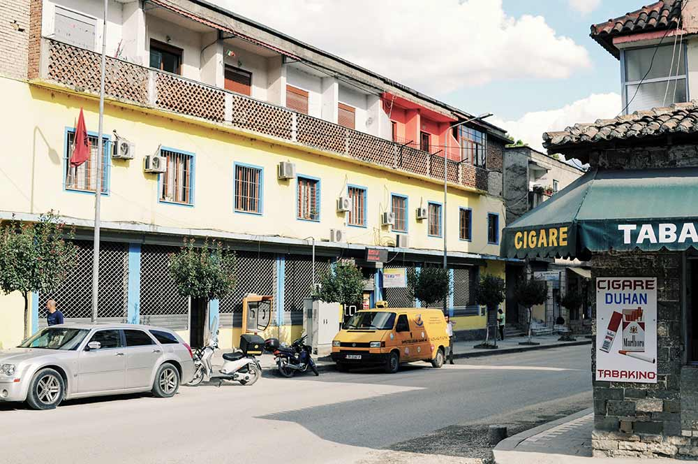 Häuser im Zentrum von Berat