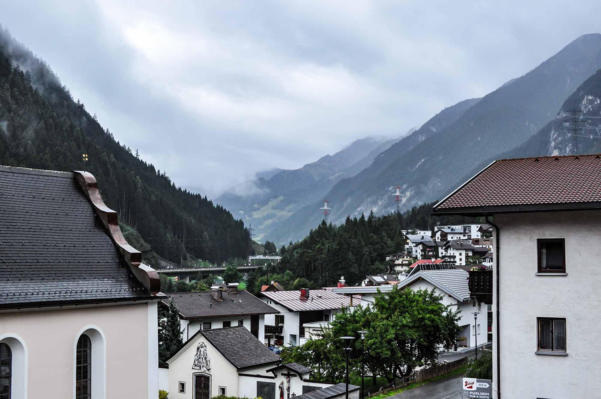 Im Bild: Das Bundesland Tirol von Österreich