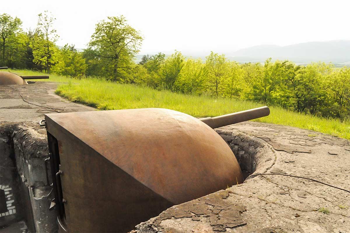 Im Bild: Fort de Mutzig in der Grenzregion von Frankreich zu seinem Nachbarland Deutschland.
