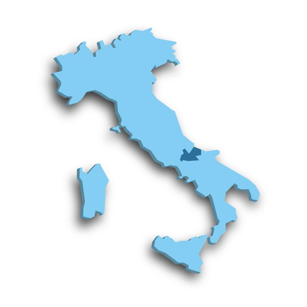 Die Region Molise in Italien