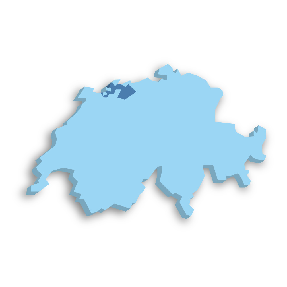 Kanton Basel-Landschaft Schweiz