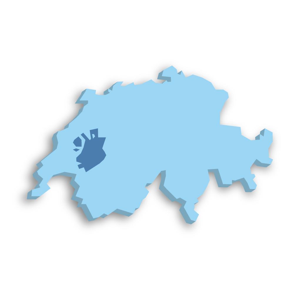 Kanton Freiburg Schweiz