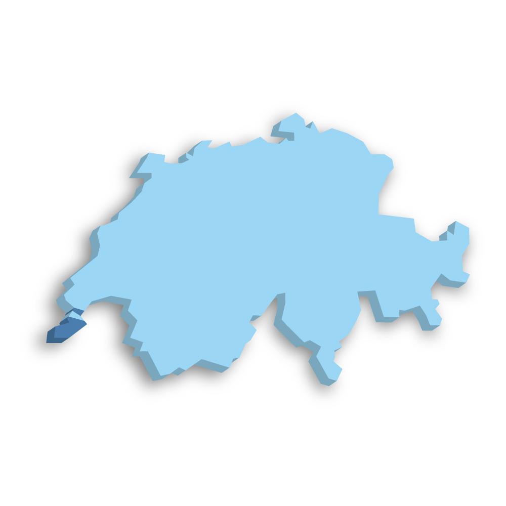 Kanton Genf Schweiz