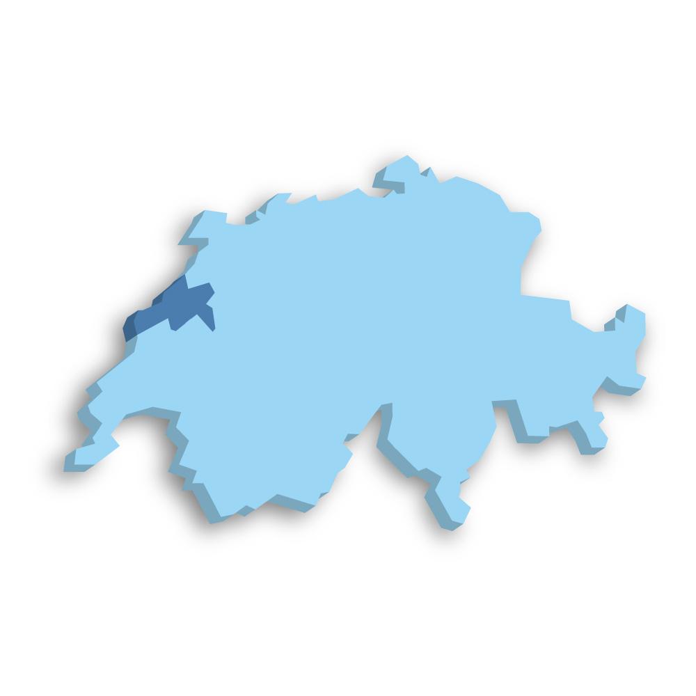 Kanton Neuenburg Schweiz