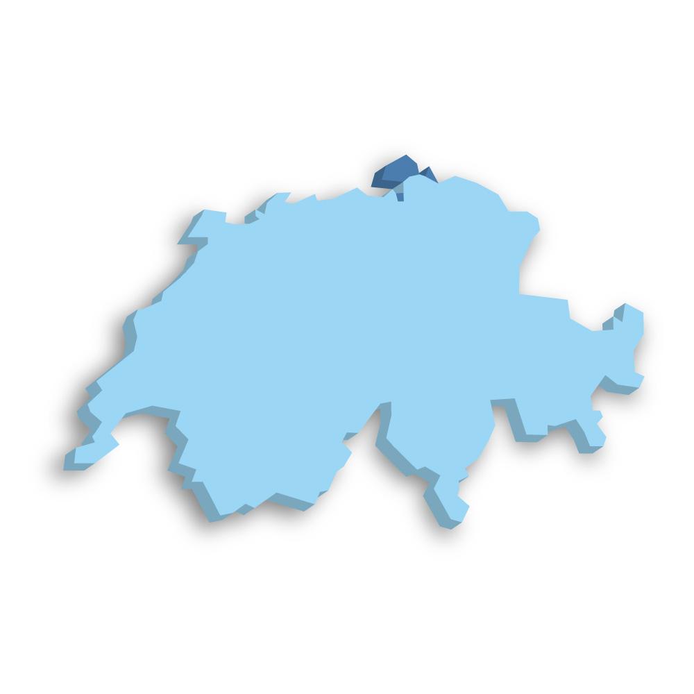 Kanton Schaffhausen Schweiz