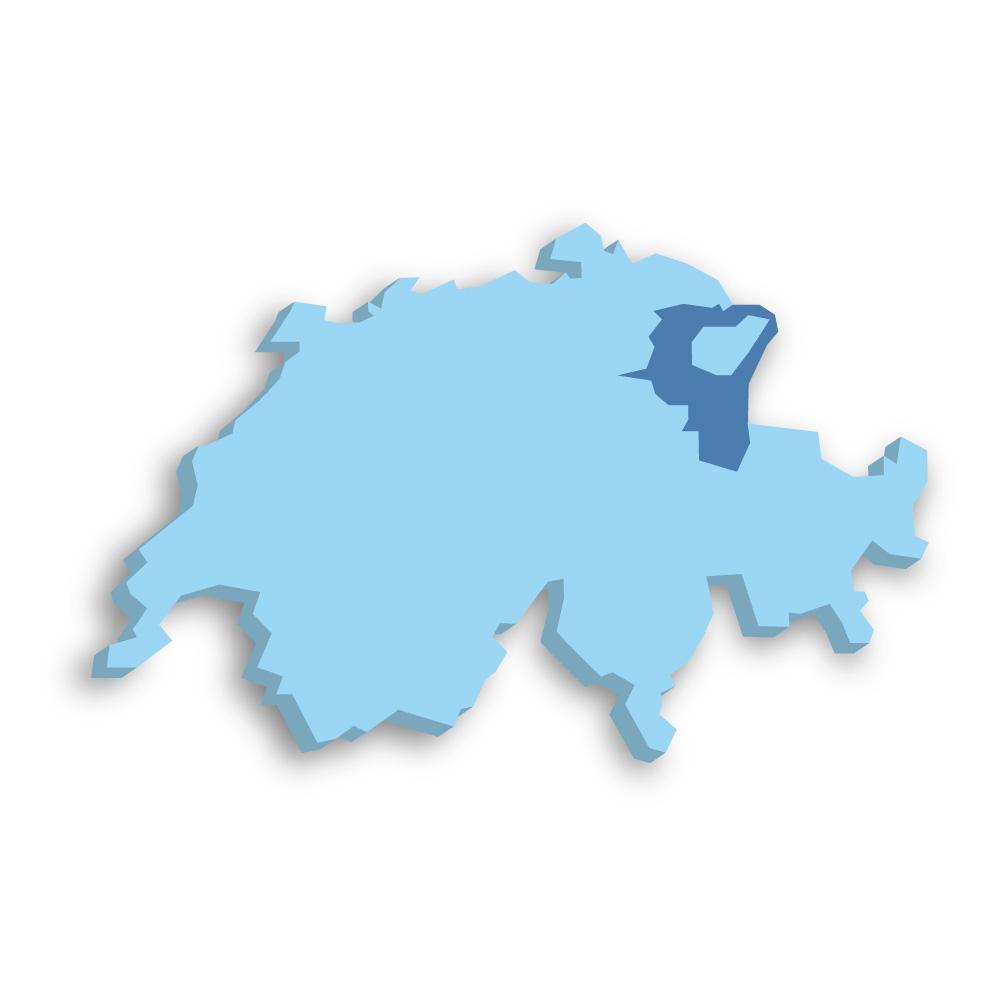 Kanton St. Gallen Schweiz