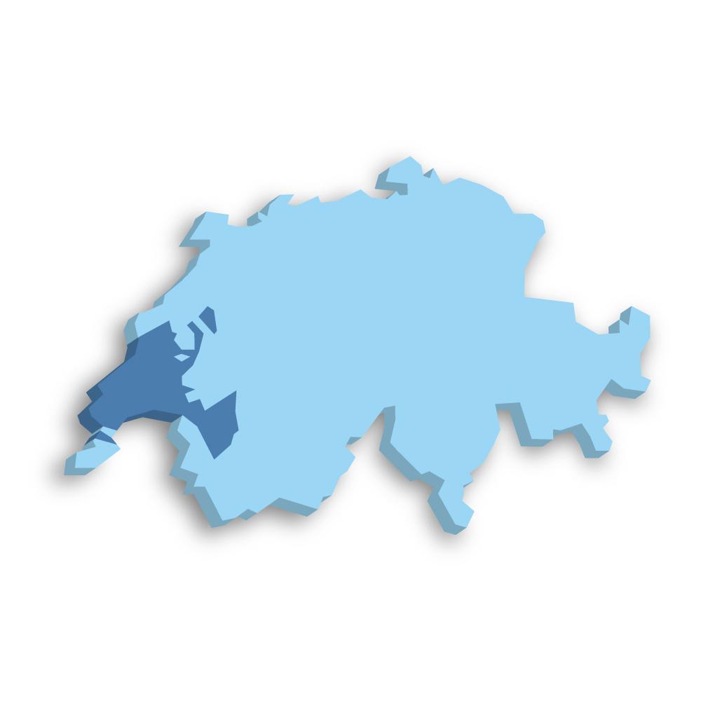 Kanton Waadt Schweiz