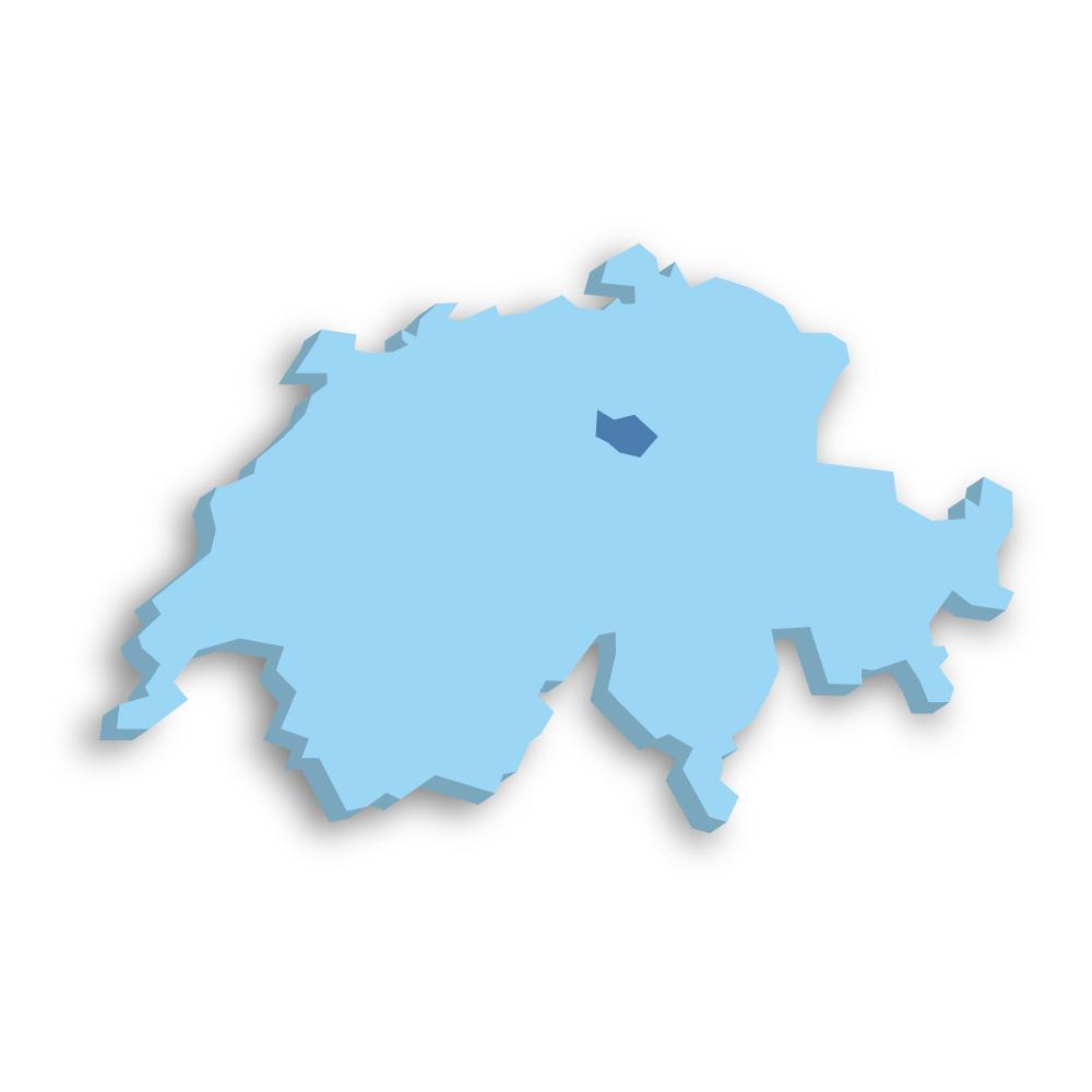Kanton Zug Schweiz