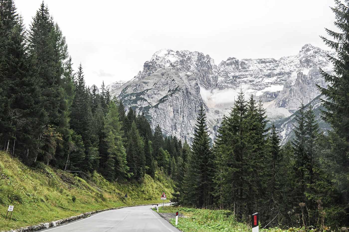 In der italienischen Region Venetien liegt ein Teil der Dolomiten