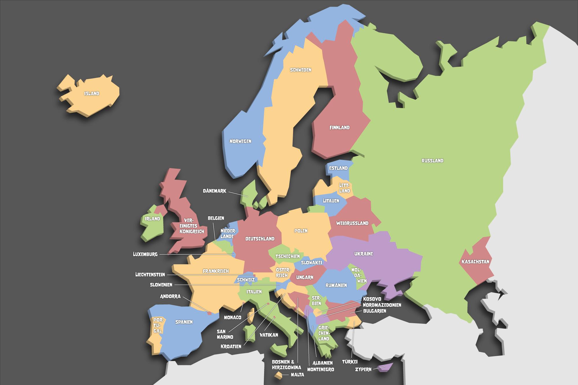europa länder kennenlernen)