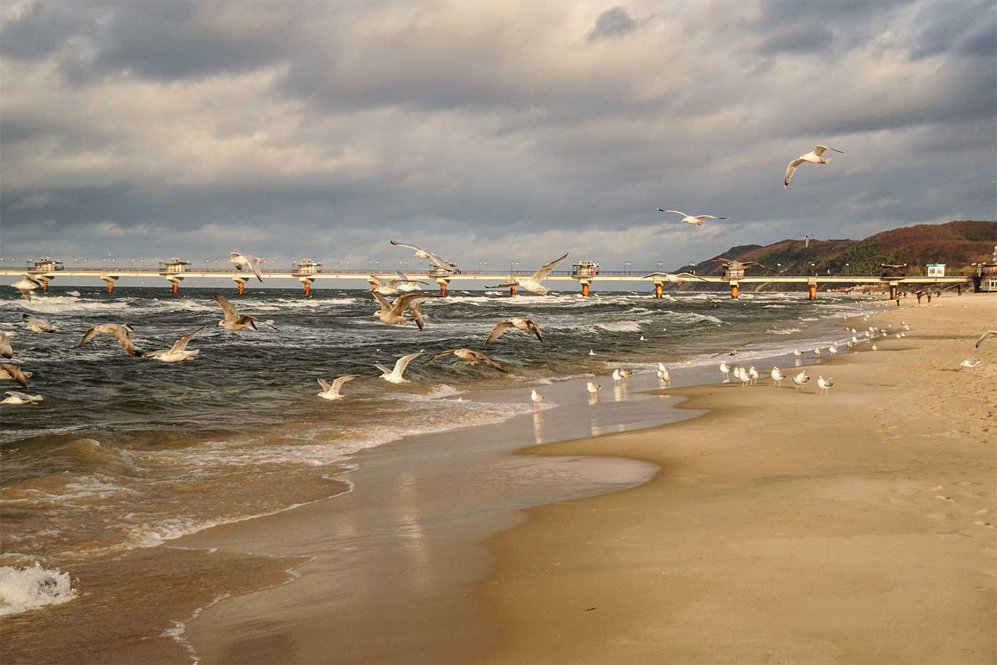 An der Ostseeküste in Polen