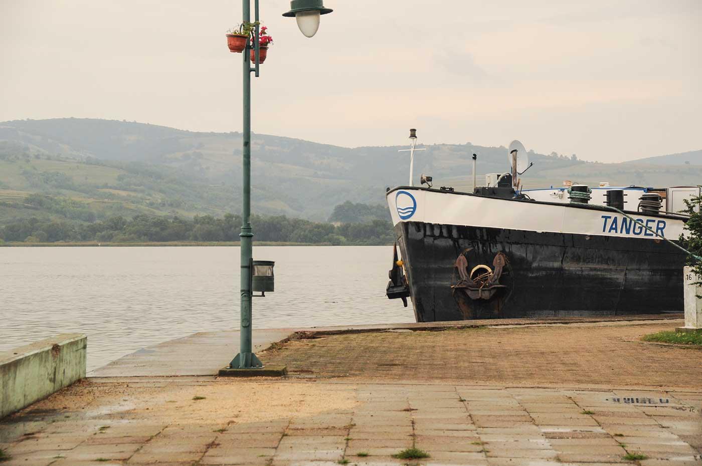 An der Donau in Serbien - einer der längsten Flüsse Europas